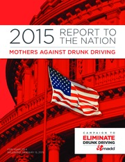 MADD REPORT TO THE NATION report 2015