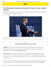 Cambridge Analytica's Facebook breach was a wake-up call, not a hack - Vox.pdf
