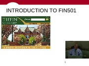 I_INTRODUCTION_TO_FIN501
