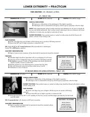 ch6 - practicum [lower extremity]