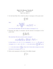Math 118 Assignment 7