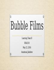 Bubble Films presentation week 4.pptx