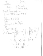 Uncertainty analysis HW solutions