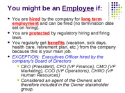 Employee-Supplier-Product Liability