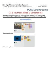 Copy of 1.1.5 Journal Entries & Screenshots (TUTORIALS)