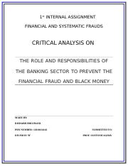 1st INTERNAL ASSIGNMENT financial frauds (1)