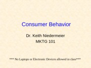 MKTG101-2. Consumer BehaviorWC