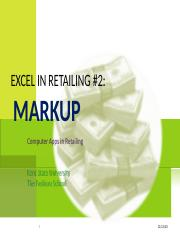 Excel in Retailing 2.ppt
