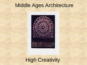 20 Middle Ages Architecture.pptx - short 2011