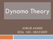 Ankur dynamo theorem