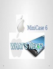 MiniCase - Apple - What's Next.pptx