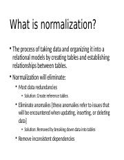 What is normalization.pptx