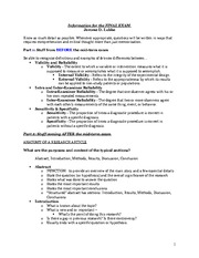 RSCH 2501 Final Exam Review Outline (With Detailed Answers)