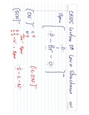 CH105 Lecture 38 Lewis Structures