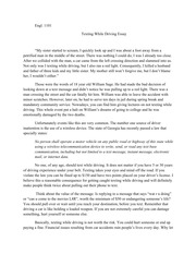 argumentative essay on texting and driving Free texting and driving persuasive papers teenage driving: texting while driving - for many teenagers getting their from an argumentative.