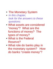 Ch 11 Monetary System.docx
