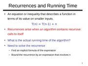 Lesson+2-+Solving+Recurrences+and+Introduction+to+Sorting+Algorithms