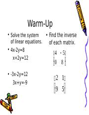 Solving+Systems+Using+Inverse+Matrices