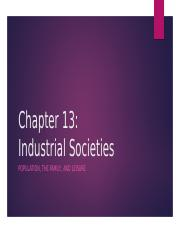 SOCI 2000 CHAPTER 13