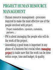 Lecture 5 Project Human Resource Management.ppt