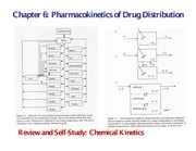 Chapter 6 Pharmacokinetics of Drug Distribution (One slide per page)