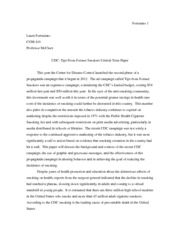 6 page term paper smokers