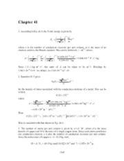 PHY2049 Chapter 41 Solutions