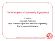2_Principles of Sputtering Equipment
