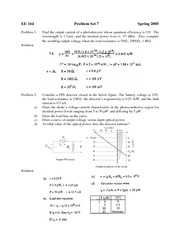 EE 164 Problem Set 7 Solution