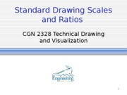 Lecture 1 Scales and Ratios