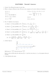 Tutorial 5 - Answers