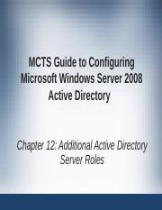 mcts guide to configuring microsoft windows Mcts self-paced training kit (exam 70-680): configuring microsoft windows 7 published: october 2009 this self-paced training kit is designed to help maximize your mcts guide to microsoft windows 7 chapter 3 review questions answers.