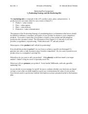 6_Marketing Plan_Positioning and Marketing Mix.docx