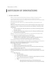 Diffusion of Innovations-CHPT 14.docx