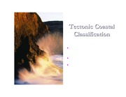 Tectonic Coastal Classification