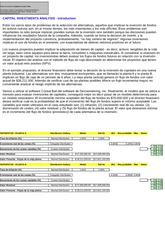 Capital Investment Analysis-Plantas A y B, Brasil