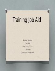 Training Job Aid for JCO's .pptx
