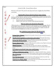 AP Period 4 Prep docx - Period 4(1800 1848 Review Sheet