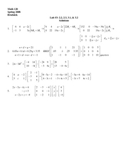 Finite Lab 3 Solutions
