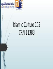 Islamic 102 Powerpoint