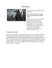 Contingency Leadership Mondels and Approaches notes.docx