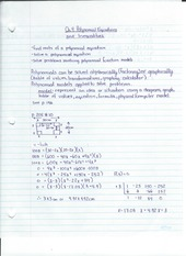 Polynomial Equations and Inequalities