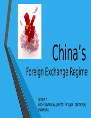 ME_Group 7_China Forex Regime.pptx