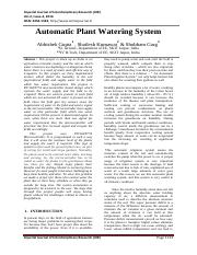 Automatic Plant Watering System.pdf