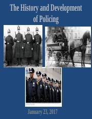 4.   The History and Development of Policing.pptx