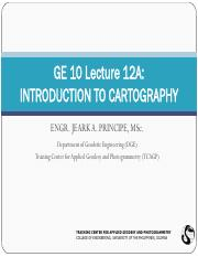 GE 10 Lecture 12A - Introduction to Cartography.pdf