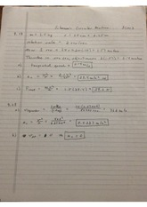various problem sets from schaum college physics HW book