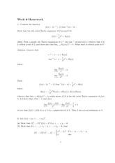 Homework 8 Solution Spring 2013 on Advanced Multivariable Calculus