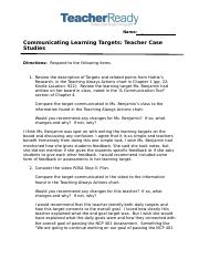 TR_Lsn2Mod6_Communicating_Learning_Targets_Teacher_Case_Studies_Assignment (1).docx