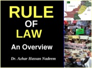 03 RULE OF LAW-AN OVERVIEW